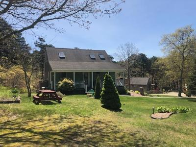 Wellfleet MA Single Family Home For Sale: $584,500