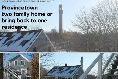 Provincetown Single Family Home Active W/Contingency: 7 Railroad Avenue
