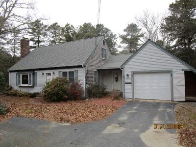 Mashpee Single Family Home For Sale: 389 Red Brook Road