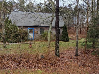 Wellfleet MA Single Family Home For Sale: $485,000