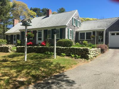 Dennis Single Family Home For Sale: 38 Old Fish House Road