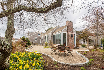 Provincetown Single Family Home For Sale: 7 Off Cemetery Road