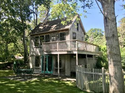 Wellfleet Single Family Home Pending: 339 Coles Neck Road