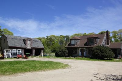 Falmouth Single Family Home For Sale: 809 Sandwich Road