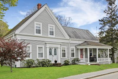 Wellfleet MA Single Family Home For Sale: $949,000