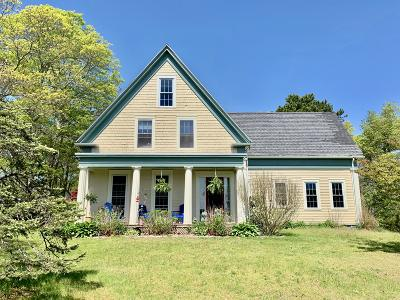 Falmouth Single Family Home For Sale: 61 Ox Bow Road