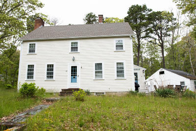 Wellfleet Single Family Home For Sale: 45 Cottontail Road