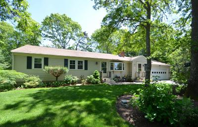 Barnstable Single Family Home Active W/Contingency: 52 King Arthur Drive