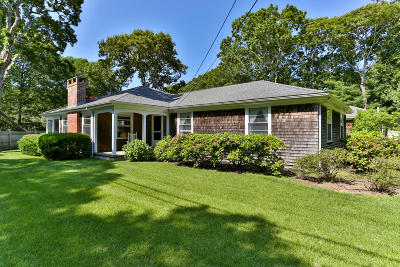Barnstable Single Family Home For Sale: 256 Parker Road