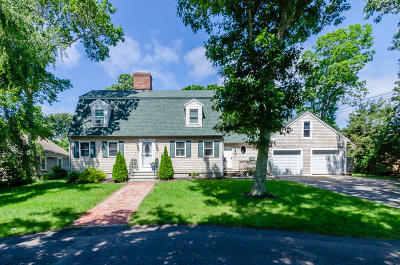 Falmouth Single Family Home For Sale: 43 & 449 Woodland & Acapesket Road