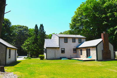 Falmouth Single Family Home For Sale: 23 Old Main Road