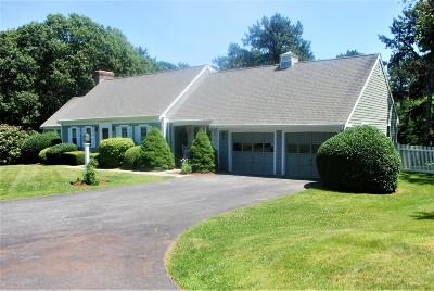 Barnstable Single Family Home For Sale: 782 Mistic Drive