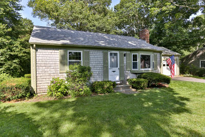 Chatham, Brewster, Orleans, Dennis, Harwich, Yarmouth, Eastham Single Family Home For Sale: 48 Clear Brook Road