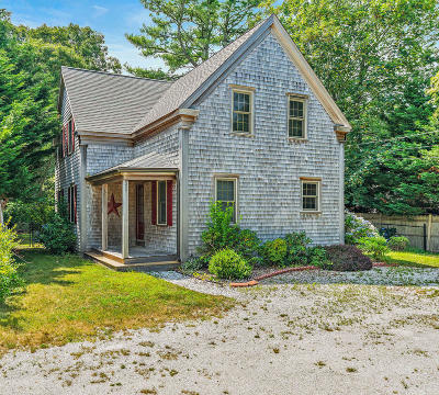 Chatham, Brewster, Orleans, Dennis, Harwich, Yarmouth, Eastham Single Family Home For Sale: 37 Union Street