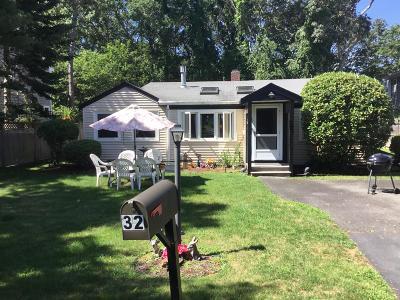 Harwich Single Family Home For Sale: 32 Earle Terrace