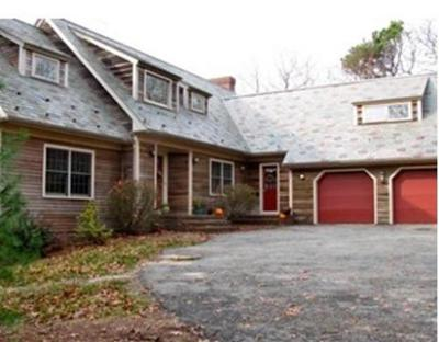 MA-Barnstable County Single Family Home Under Agreement: 48 Old Forge Road