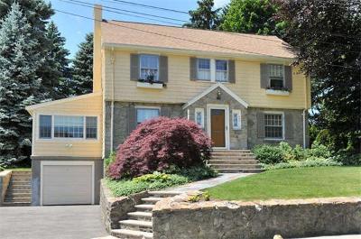 Belmont Single Family Home Under Agreement: 289 School Street