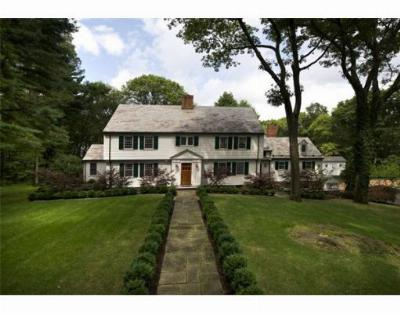 Wellesley Single Family Home Under Agreement: 40 White Oak Road