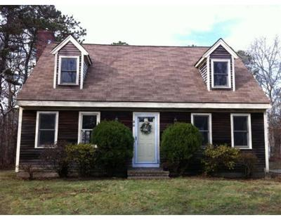 Falmouth Single Family Home Under Agreement