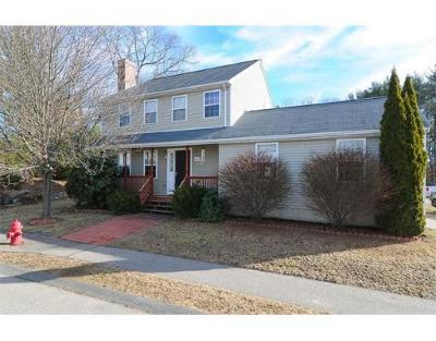 Millis Single Family Home Under Agreement: 40 Heritage Path