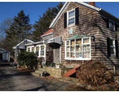 RI-Newport County Single Family Home Under Agreement: 458 Lake Rd