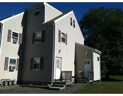 Taunton Condo/Townhouse Under Agreement: 713 Somerset Ave #3