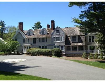 Dover MA Single Family Home For Sale: $11,995,000