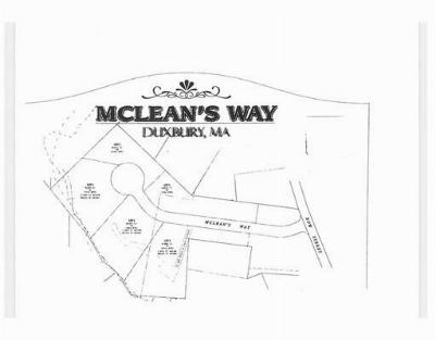 Duxbury Residential Lots & Land For Sale: Lot 5 McLean's Way