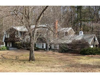 Mansfield Single Family Home Under Agreement: 21 Lawndale Rd