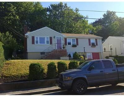 Revere Single Family Home Under Agreement: 194 Vane St