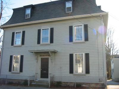 Fall River Multi Family Home For Sale: 447 Cherry St.