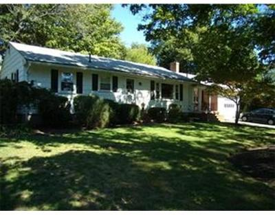 West Bridgewater Single Family Home Under Agreement: 154 Matfield St