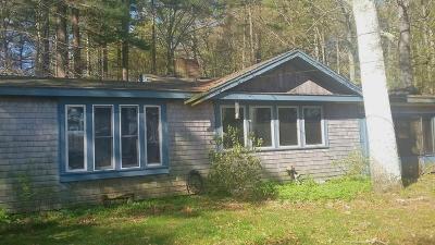 Hanson Single Family Home Under Agreement: 296 Lakeside Rd