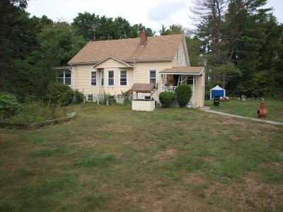 Freetown Single Family Home Under Agreement: 32 Middleboro Rd