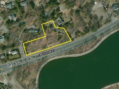Brookline Residential Lots & Land Under Agreement: 621 Boylston St