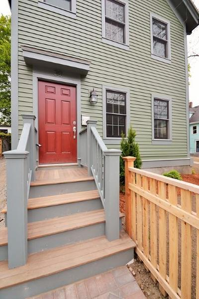 Somerville Single Family Home For Sale: 39-A Oxford St #Left