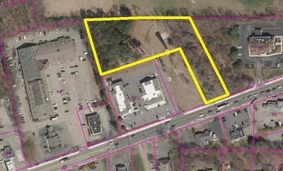 MA-Norfolk County Commercial For Sale: 72 Main Street #Lot 3