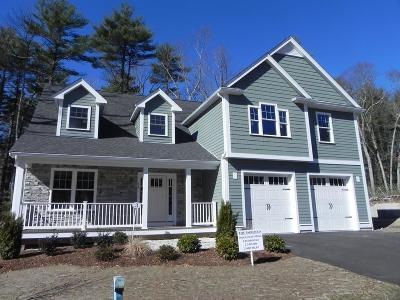 Norwell Single Family Home For Sale: Lot 3 Hillcrest Cir(130 Tiffany Rd)