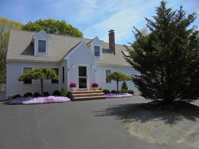 Marshfield Single Family Home Contingent: 6 Country Way