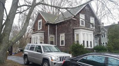 Brockton Single Family Home Under Agreement: 162 Clifton Ave