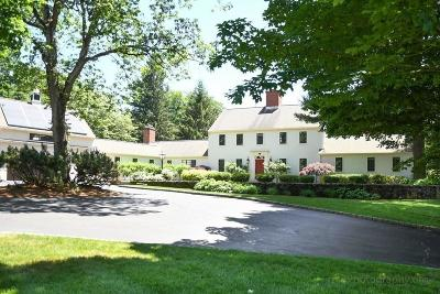 Wayland Single Family Home Contingent: 180 Oxbow Rd