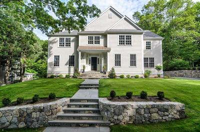 Wellesley Single Family Home For Sale: 12 Nantucket Rd