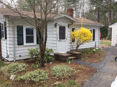 East Bridgewater Single Family Home For Sale: 1053 Plymouth St