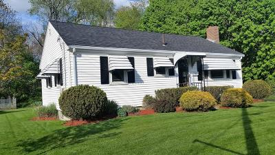 Randolph Single Family Home Under Agreement: 20 Gloria