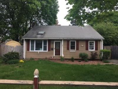 Brockton Single Family Home Under Agreement: 35 Hall St