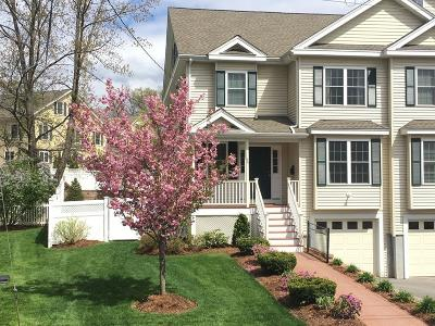 Needham Single Family Home Under Agreement: 54 Jarvis Circle #54