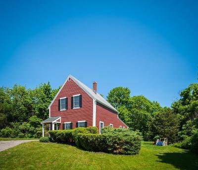 Hingham Single Family Home For Sale: 190 Hull St
