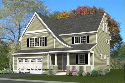 Acton Single Family Home Under Agreement: Lot 14 Hadley Lane