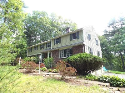 Sudbury MA Single Family Home For Sale: $639,900