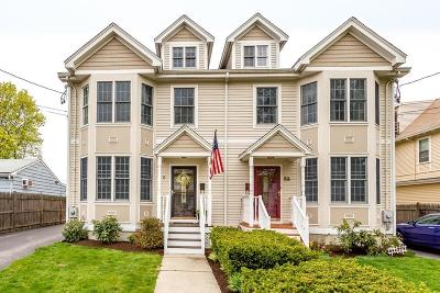 MA-Suffolk County Condo/Townhouse For Sale: 6 Everett St #1